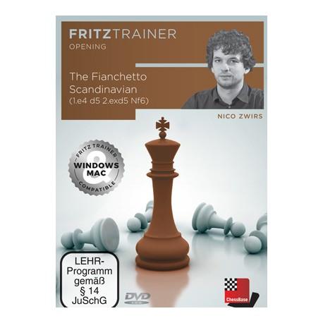 DVD Zwirs - Fianchetto Scandinavian (1.e4 d5 2.exd5 Nf6)