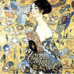 Puzzle 80 pièces - La dame à l'Eventail - en Bois