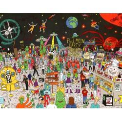 Puzzle 500 pièces - Where's Bowie ?