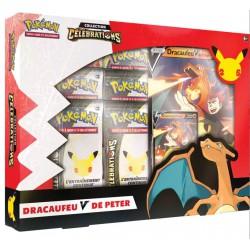 Pokémon JCC 25 ans - Coffret Collection Célébrations : Dracaufeu V De Peter