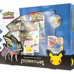 Pokémon JCC 25 ans - Coffret Collection Célébrations avec Pin's Deluxe