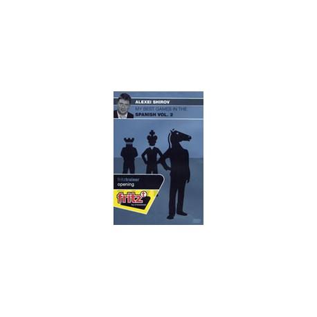 DVD SHIROV - My best games in the Spanish vol.2