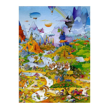 Puzzle 1000 pièces - Idyll