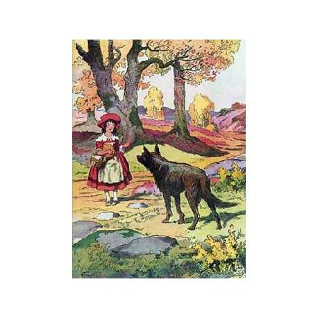 Puzzle Le Petit Chaperon Rouge, 24 pièces