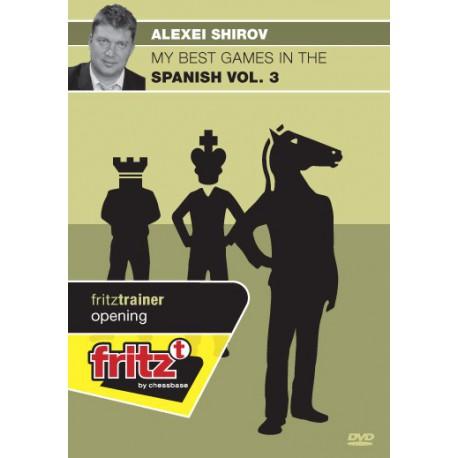DVD SHIROV - My best games in the Spanish vol.3