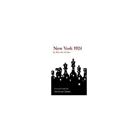 ALEKHINE - New York 1924 21th century edition