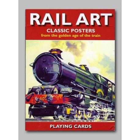 Cartes à jouer Rail Art