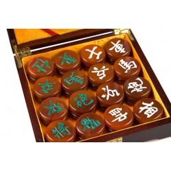 Pions de Xiang Qi en agathe