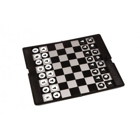 Coffret d'échecs magnétique de poche