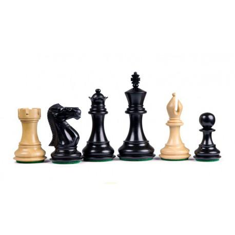 Pièces d'Echecs Stallion Black - Taille 5