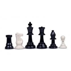 Pièces d'échecs Plastique feutrées Taille 4 Clubs
