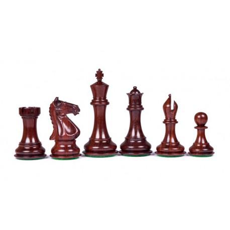 Pièces d'Echecs Chess Master Padouk - Taille 5.5