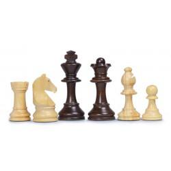 Pièces d'échecs Chavet plombées-feutrées n°2
