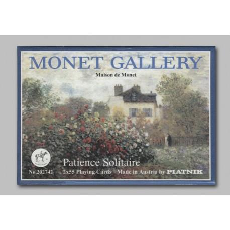 Coffret patience Monet Gallery