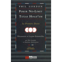 GORDON - Poker No-Limit Texas Hold'em vol. 3 La première donne