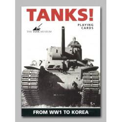 Cartes à jouer Tanks