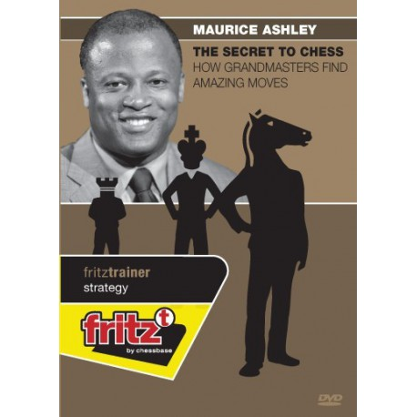 ASHLEY - The secret to chess - How grandmasters find amazing moves DVD