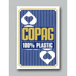 Cartes Copag 4 index Jumbo - Bleu
