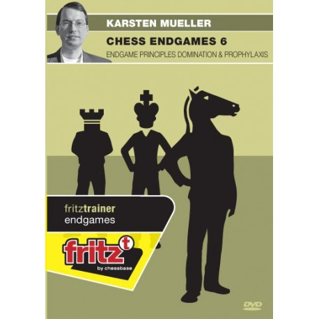 MÜLLER - Chess Endgames 6 : Endgame principles domination & prophylaxis DVD