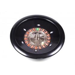 Roulette Bakélite Luxe Noire 35 cm