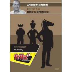 MARTIN - Enter 1.f4, Bird's opening ! DVD