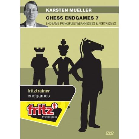 MÜLLER - Chess Endgames 7: Endgame principles weaknesses & fortressesDVD