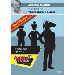 MARTIN - ABC of Benko Gambit 2nd edition DVD