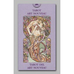 Mini tarot Art Nouveau