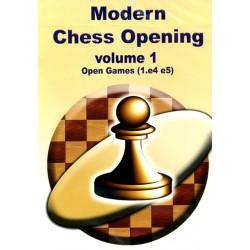 Modern Chess Opening vol.1 Open games (1.e4 e5) CD-Rom