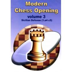 Modern Chess Opening vol.3 Sicilian Defense (1.e4 c5) CD-Rom