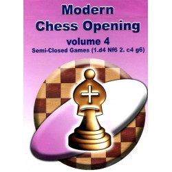 Modern Chess Opening vol.4 Semi-Closed Games (1.d4 Nf6 2.c4 g6) CD-Rom