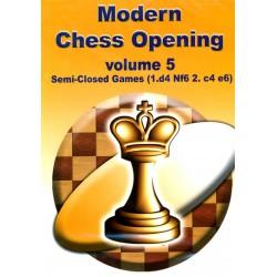 Modern Chess Opening vol.5 Semi-Closed Games (1.d4 Nf6 2.c4 e6) CD-Rom
