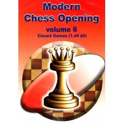 Modern Chess Opening vol.6 Closed Games (1.d4 d5) CD-Rom