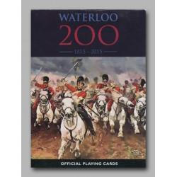 Cartes à jouer Waterloo 200