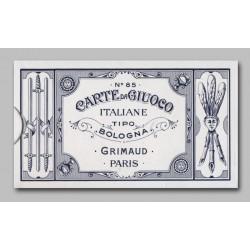 Cartes Bolognaises Grimaud Italiennes